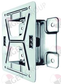 592171 - Wandhouder voor slanghaspel zwenkbaar RVS rotatiehoek 80° L 300mm B 268mm PREMIUM PLUS