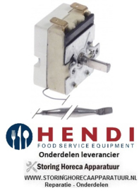 884923092 - Thermostaat instelbereik 50-250°C HENDI