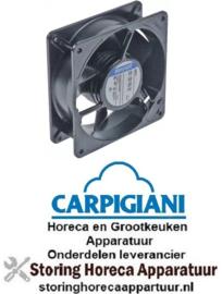 507601754 - Axiaalventilator 230VAC 50Hz 13W lager kogellager CARPIGIANI