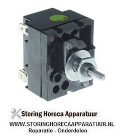 040380040 - Energieregelaar 200-250V 13A enkel circuit draairichting rechts as ø 4,8x4,1mm
