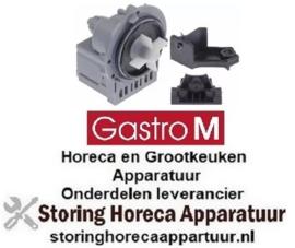 785500209 - Afvoerpomp 230 Volt - 40 Watt met houder voor vaatwasser GASTRO-M