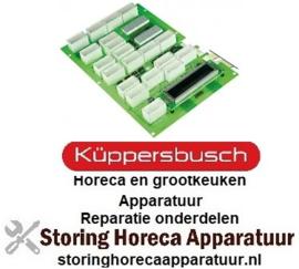 102401468 - Displayprintplaat combi-steamer CBE 106 voor KUPPERBUSCH