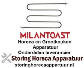 EM16818440 - Verwarmingselement 1060 Watt 230 Volt voor toaster MILAN-TOAST