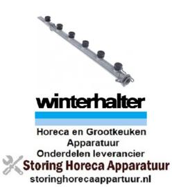 701502109 - Wasarm L 570mm sproeiers 6 voor vaatwasser Winterhalter