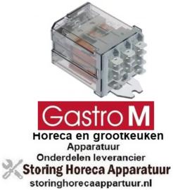 213380808 - Vermogensrelais 230 VAC 16A voor glazenspoelmachine GASTRO M