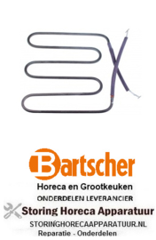 974416853 - Verwarmingselement 1100W 230V contactgrill BARTSCHER