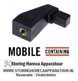 324690718 - Console voor handgreep 20 x 20 mm Mobile-Containing