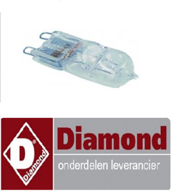 199LC-051 - HALOGEENLAMP - NIEW MODEL - 40W DIAMOND DFV-423/S