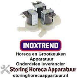 161372025 - Magneetventiel drievoudig recht 230VAC INOXTREND