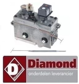 G65/F16-7T - DIAMOND ALPHA 650 GAS FRITEUSE ONDERDELEN