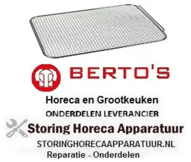 519970228 - Kruimelzeef L 336mm B 250mm passend voor friteuse BERTOS