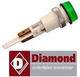 VE936166465 - Signaallamp groen elektrische friteuse DIAMOND E77/F13A4-N