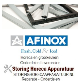 940901068 - Koeldeurrubber B 629mm - L 1588mm steekmaat Afinox