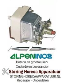 253390062 - Maximaalthermostaat uitschakeltemp. 235°C 1-polig voeler 133/Ø6mm capillair 2020/590mm ALPENINOX