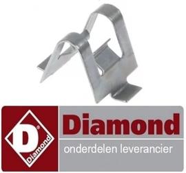 72441901001 - Bevestigingsclip voor Pizza koelwerkbanK DIAMOND TP23