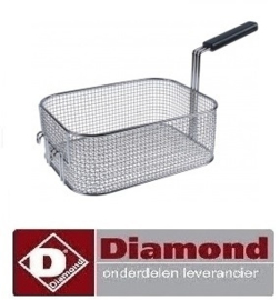 338683.000.00 - Friteuse,mand DIAMOND E65 - F20-7T (9+9KW)