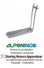 364417631 - Verwarmingselement 2900W 230V  L 270mm B 50mm H 235mm rechthoekige flens ALPENINOX