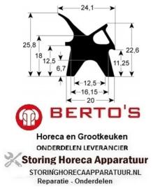 219900059 - Deurrubber verkoop per meter BERTOS