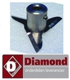 MAV-45 - DIAMOND STAAFMIXER REPARATIE, ONDERDELEN