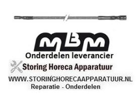 019RTCU700410 - Ontstekingskabel kabellengte 900 mm gas doorkookplaat  MBM GT2SDFA7