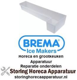 178750393 - Lekbak niet-verwarmd L 705mm B 225mm H 120mm voor ijsmaker BREMA