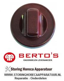 07331875800 - Knop lavasteengrill BERTOS G6PL80B