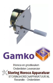 060601445 - tandwielmotor 1U/min GAMKO