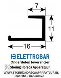 248437057 - Deurrubber vaatwasser ELLETROBAR FAST 130
