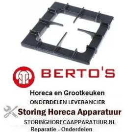 112210215 - Branderrooster B 390mm L 390mm BERTOS