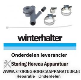 295502104 - Terugslagventiel set vaatwasser WINTERHALTER GS302 - GS310 - GS315