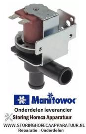 143370650 - Magneetventiel eenvoudig haaks 220-240 VAC ingang uitgang 11 mm