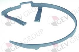 697523 - Bescherming voor mes ø 350mm ø 360mm aluminium GEMMA 350