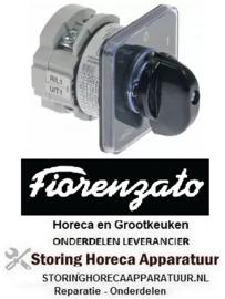 133345019 - Draaischakelaar 2 0-1 contactset 2 type CA0120002 380V 12A Fiorenzato-M.C