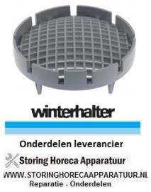 16560003259 - Zeef AD ø 137mm H 49mm voor afvoereenheid vaatwasser WINTERHALTER GS302 - GS310 - GS315