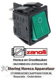 293301003- Wipschakelaar groen ZANOLLI