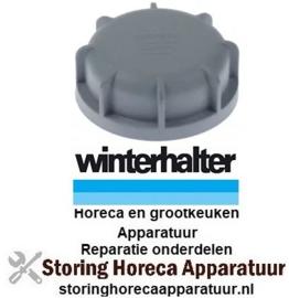 845502138 - Deksel voor zoutcontainer passend voor vaatwasser WINTERHALTER met pakking