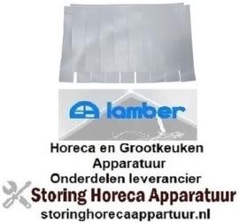 8343456018 - Dubbel gordijn 665x470 mm voor vaatwasser LAMBER