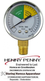 202HP16910 - Drukmeter HENNY PENNY