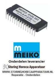 8230124351 -  EPROM type MSPL6-P-STD CODE 124351 MEIKO