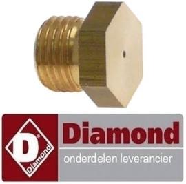 540RTCU900236 - Sproeiers propaangas / flessengas voor friteuse DIAMOND