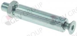 696222 - As voor slijpeenheden ø 12mm - L 67mm draad M8