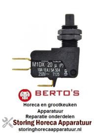 VE248345350 - Microschakelaar met drukstift voor BERTOS