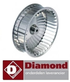 5645.44.016.00 - Ventilatorblad heteluchtoven DIAMOND CGE11