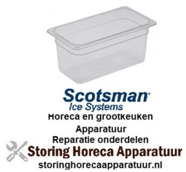 650993015 - Gastronormcontainer polycarbonaat grootte GN 1/3 D 150mm Scotsman