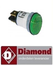 359.663.000.00 -  Signaallamp  400V groen DIAMOND