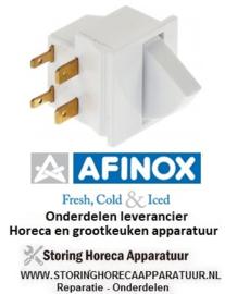00878010438 - Microschakelaar met drukknop met drukknop 250V 5A AFINOX