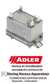 687381230 - Vermogensrelais 230VAC 30A 2NO voor ADLER