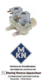 211370747 -Magneetventiel dubbel recht 220-240VAC voor MKN