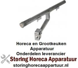 601104162 - Grillplaatbrander staafbrander T-vorm L 560mm ø 40mm gloeiplaat