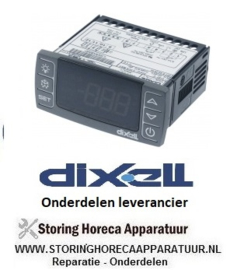 529378384 - Thermostaat elektronische regelaar DIXELL XR40CX-5N0C1 inbouwmaat 71x29mm 230V spanning AC NTC/PTC